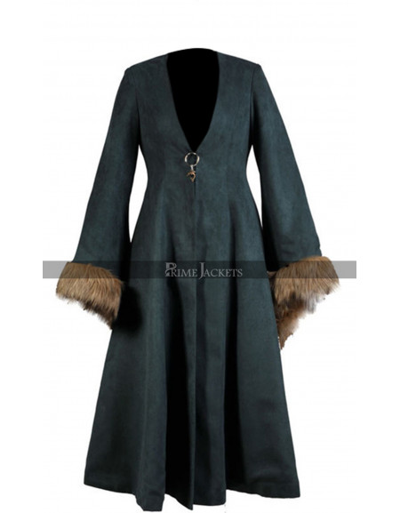 Game of Thrones Catelyn Stark Cosplay Costume Coat