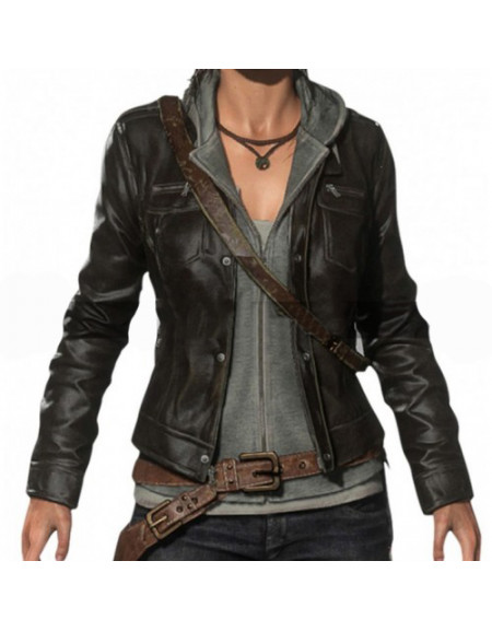 Lara Croft Rise Of The Tomb Raider Game Costume Jacket