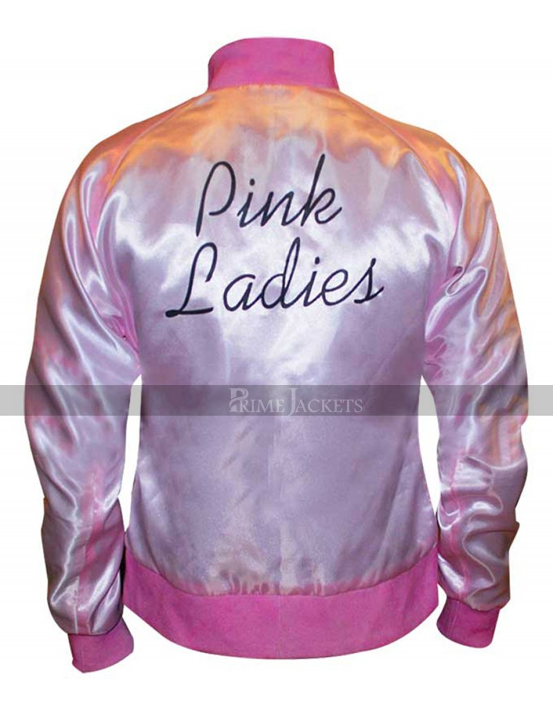 Michelle Pfeiffer Grease 2 Pink Ladies Reversible Satin Jacket