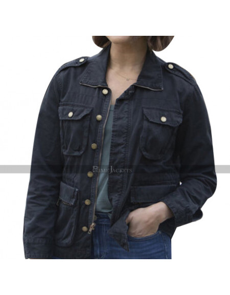 Monica Raymund Hightown Jacket