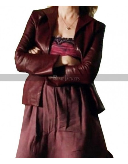 Joelle Carter Justified Ava Crowder Leather Jacket