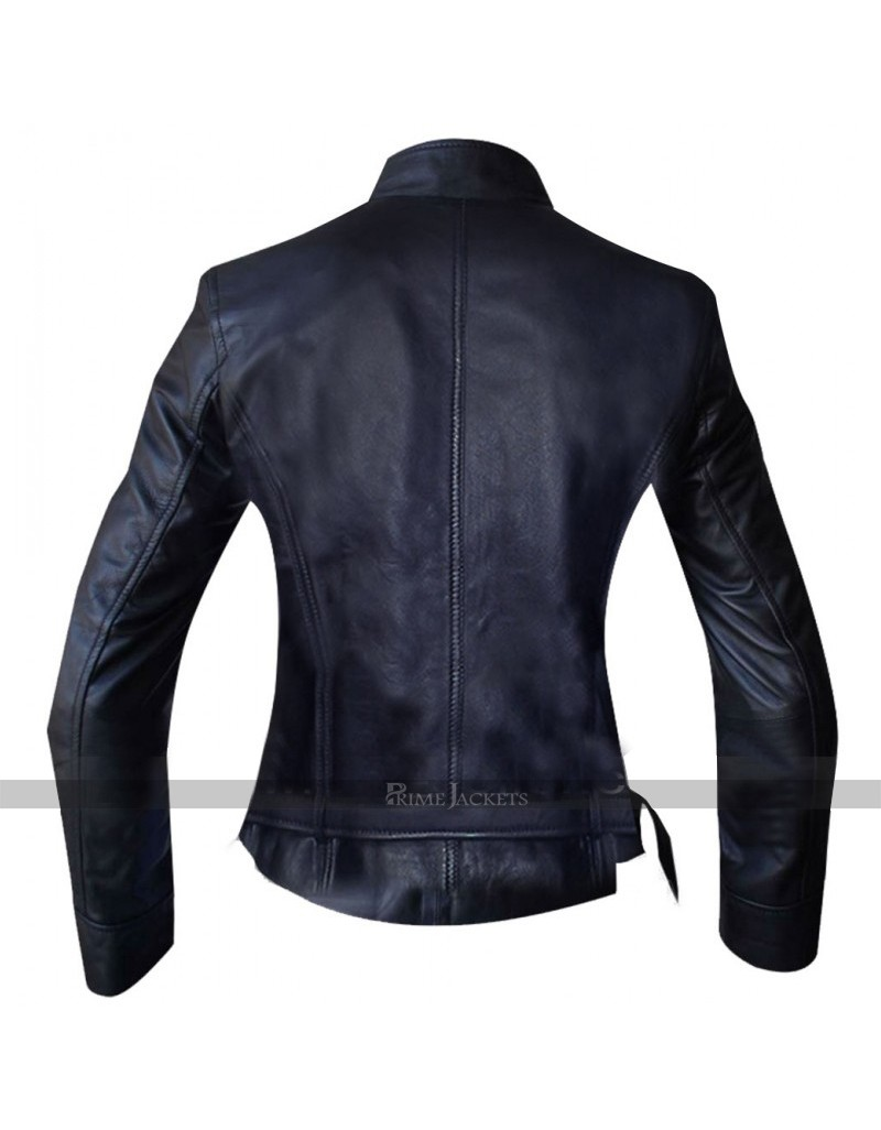 Katey Sagal Sons of Anarchy Biker Leather Jacket