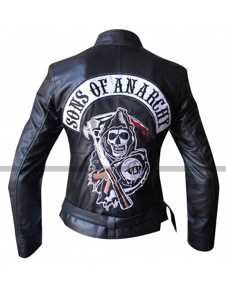 Gemma Teller Morrow Sons of Anarchy Leather Jacket