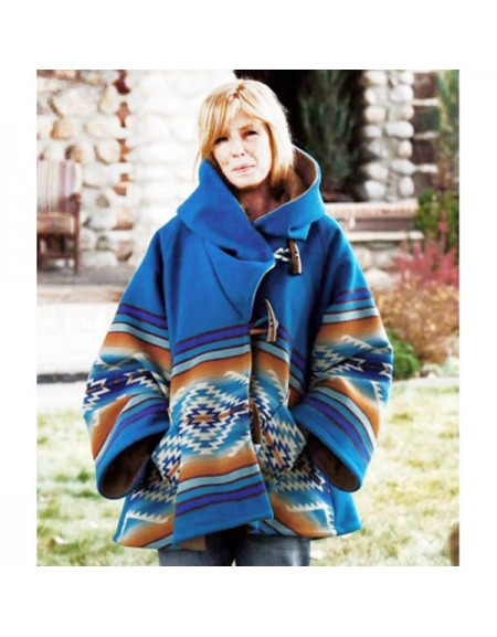 Yellowstone Beth Dutton Hooded Coat