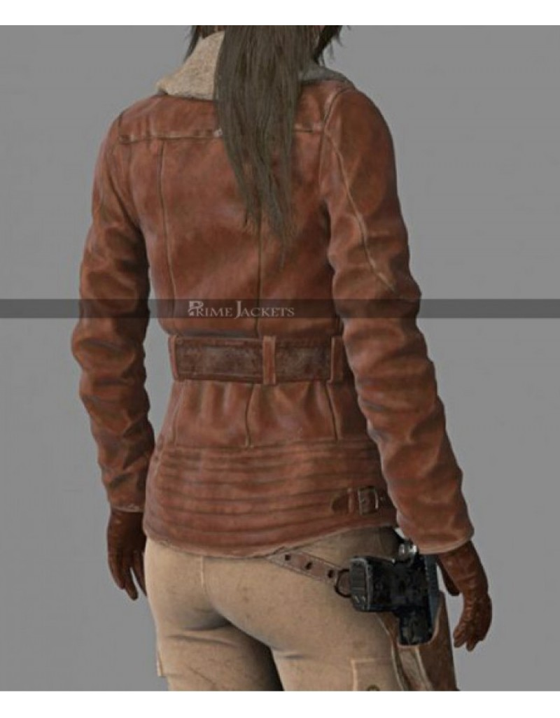 RISE OF THE TOMB RAIDER AVIATOR LARA CROFT JACKET