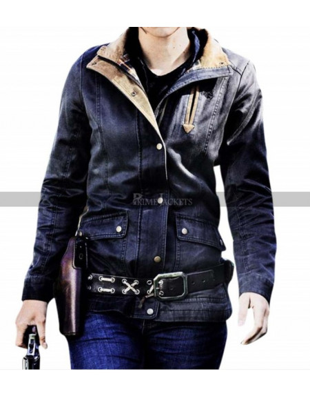 Lauren Cohan Walking Dead Maggie Rhee Jacket