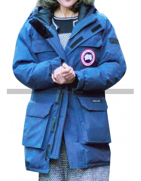 Nicole Kidman The Goldfinch Barbour Jacket