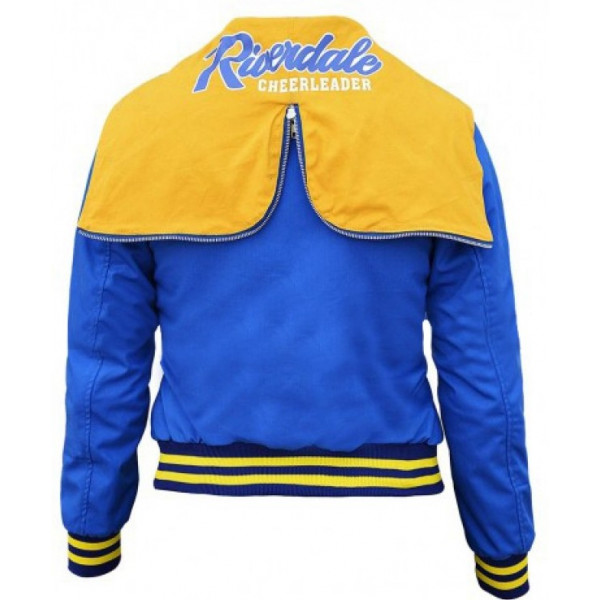 Riverdale Cheer Leader Girls Varsity Hooded Jacket