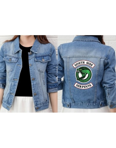 Southside Serpent Denim Jacket