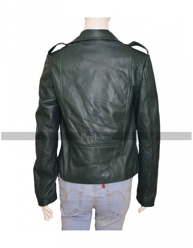 2016 TV Series Preacher Tulip O'Hare Leather Jacket