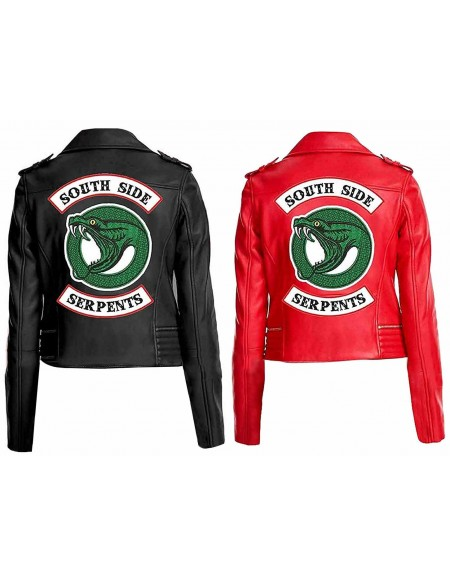 Cheryl Blossom Riverdale Red/Black Leather Jacket