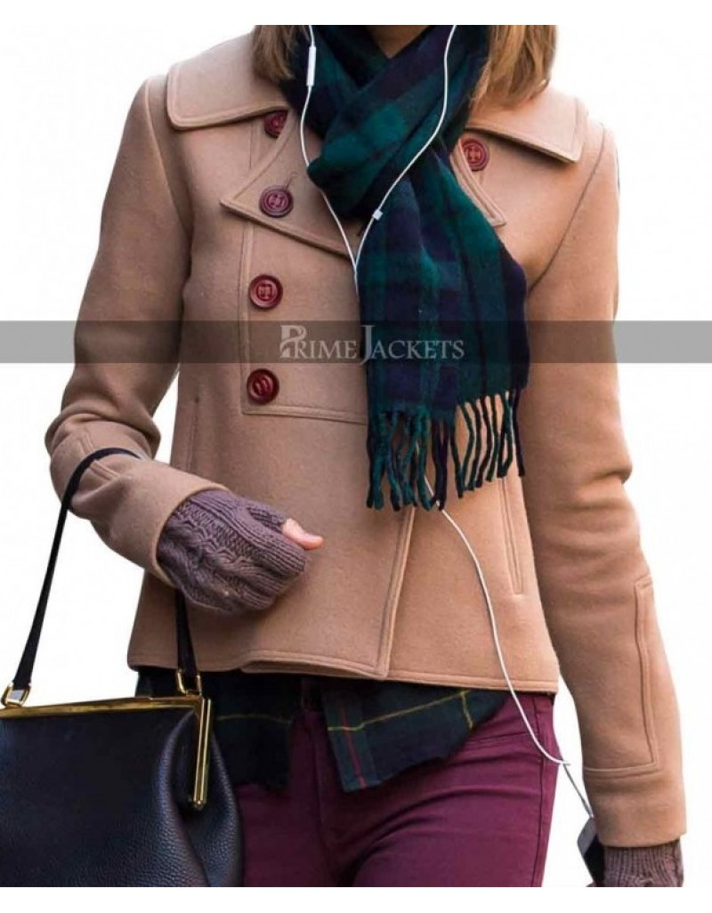 Taylor Swift Brown Wool Jacket