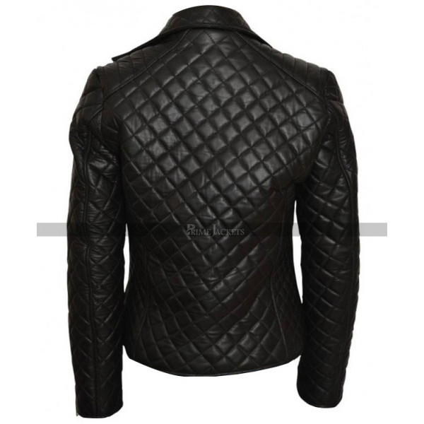 Rosemarie Hathaway Vampire Academy Quilted Jacket