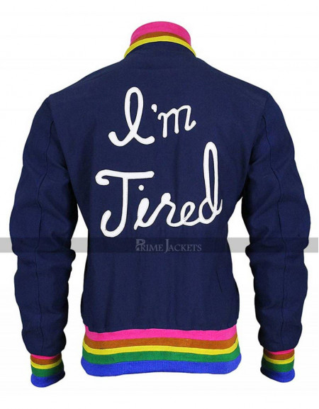 I'm Tired Women Bomber Jacket