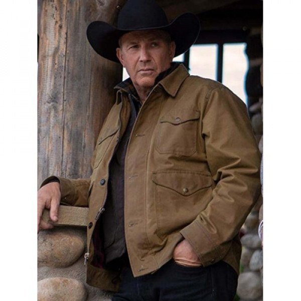 Kevin Costner Yellowstone Cotton Jacket